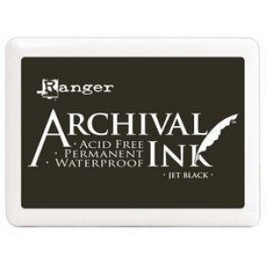archival black inkpad